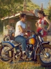 Bikini Bike Wash (Sturgis 2014) by David Uhl